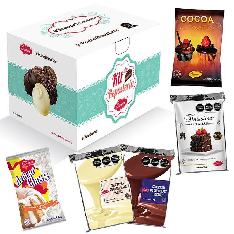 Kit Repostería CB - Cartón con 5 productos