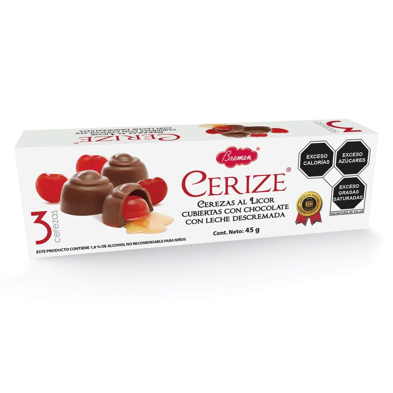 Cerize  - Paquete de 3 cajas con 3 pzas. c/u