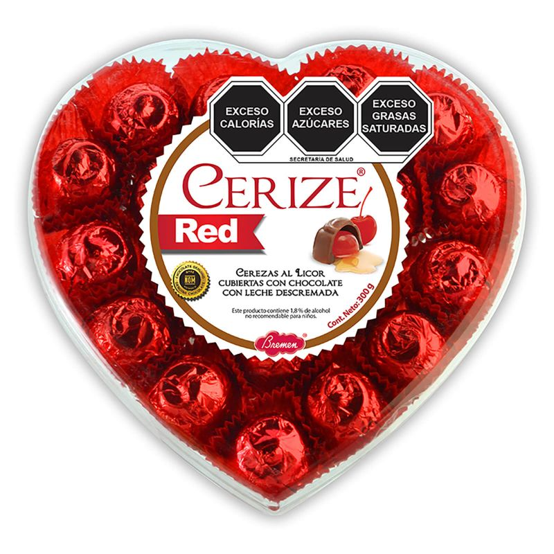 Cerize Red Mediano con 225 g
