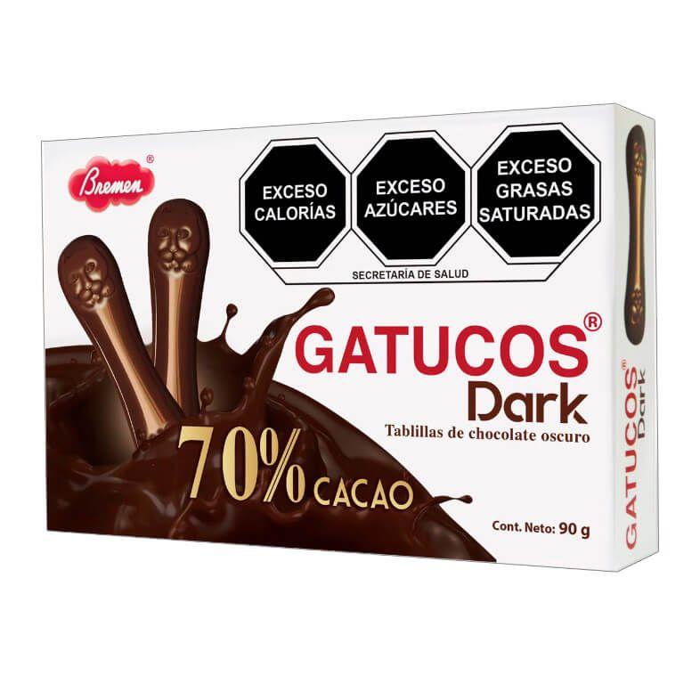 Gatucos Dark- Caja con 90 g