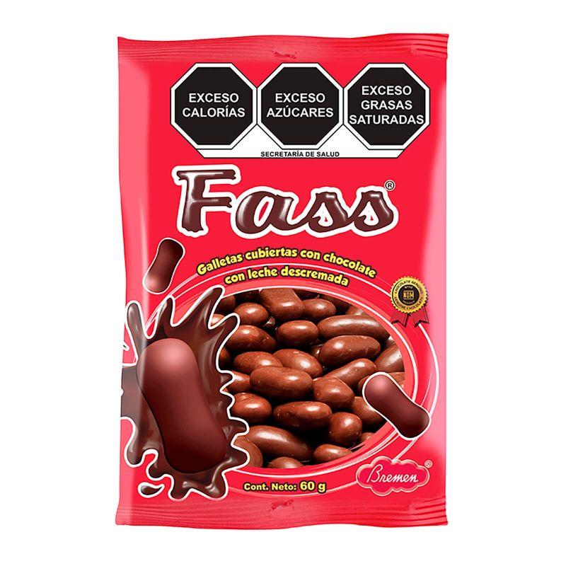Galleta Fass - Paquete con 3 bolsas con 60 g c/u