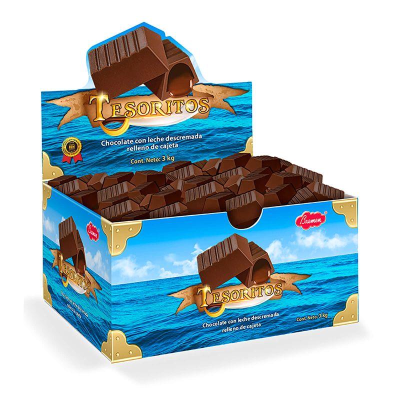 Tesoritos a granel - Cartón con 3 kg