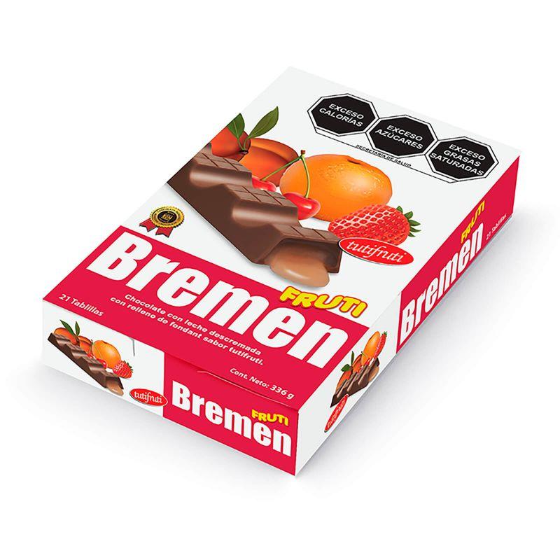 FrutiBremen Chica - Caja con 21 pzas. de 16 g c/u