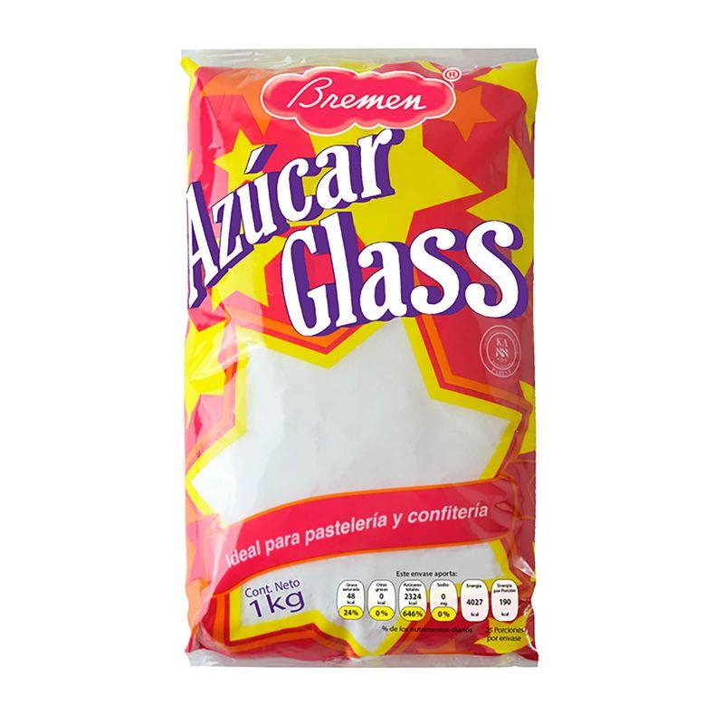 Azúcar Glass - Bolsa con 1 kg